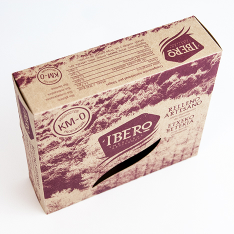 Packaging e imagen corporativa Ibero