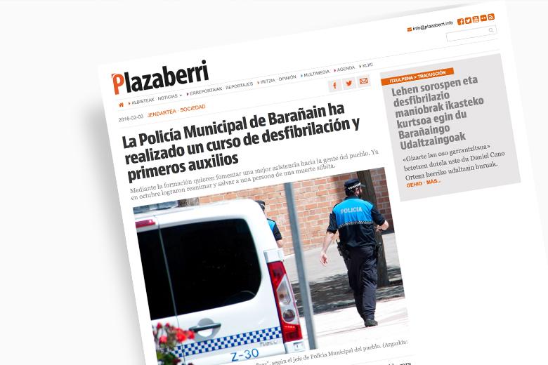 Medio de Comunicación Plazaberri