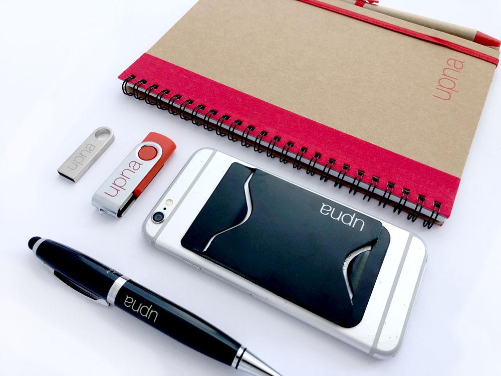 UPNA productos merchandising